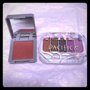 Other - New Pacifica eyeshadow and bang blush